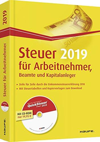 Steuer für Arbeitnehmer, Beamte und Kapitalanleger plus CD (Haufe Steuerratgeber)