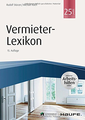 Vermieter-Lexikon - inkl. Arbeitshilfen online (Haufe Fachbuch)
