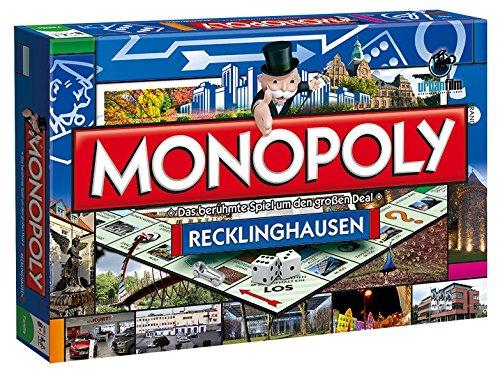 Monopoly Recklinghausen Stadt Edition - das weltberühmte Spiel um Grundbesitz und Immobilien